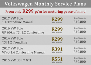 VW Aftermarket Service Plans