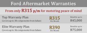 Ford aftermarket warranty prices for figo fiesta ecoboost ecosport ranger