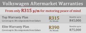 VW aftermarket warranty plans