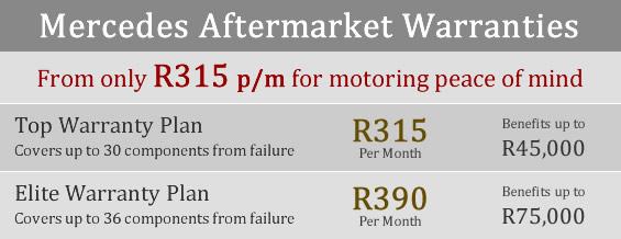Mercedes Benz aftermarket warranties a180 c250 b180 ml350 gl500